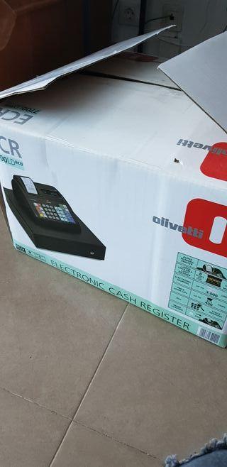 caja registradora olivetti