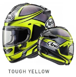 Casco Arai Tough Yellow