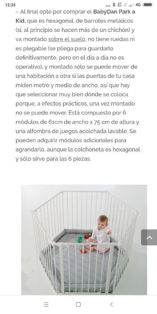 parque- cuna gemelar babydan a kid