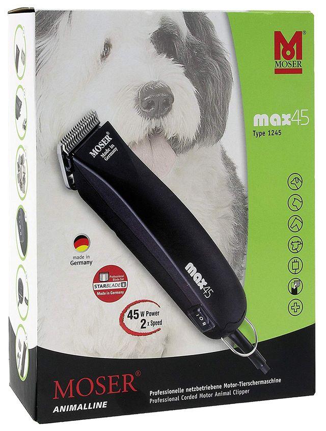 931378581 Moser Max 45 Maquina cortapelo animales de segunda mano por 90 € en ...