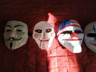 Lote de mascaras