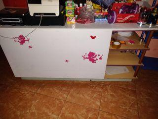 mueble mostrador para negocio