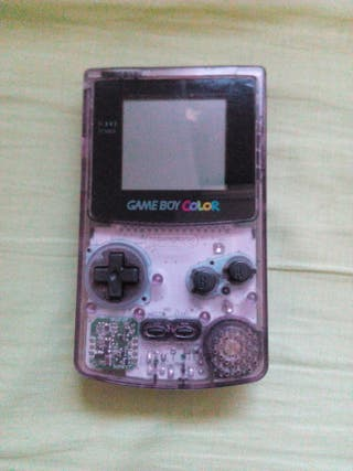 Consola Gameboy Color Transparente