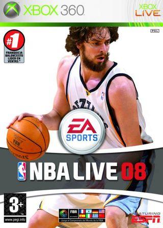 Juego Xbox 360 NBA Live 08