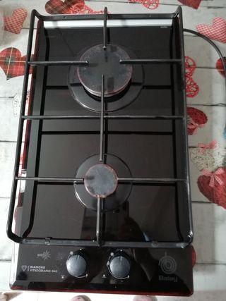 placa de gas cocina encimera vitroceramica