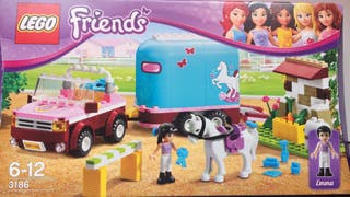 Lego Friends El remolque del caballo de Emma-3186