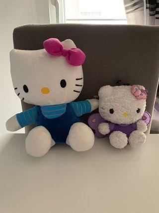 Peluches Hello Kitty: 8 euros los dos!