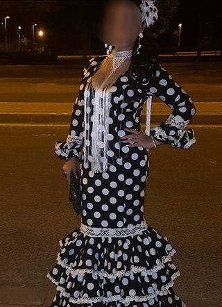 Traje de gitana ,flamenca