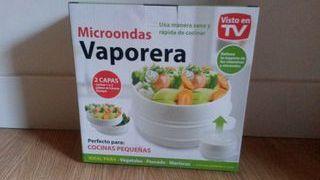 Vaporera para microondas nueva