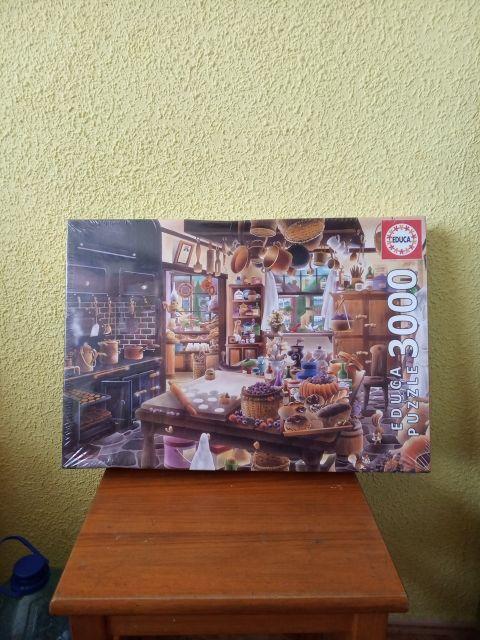 puzzle de3000 piezas nuevo sin abrir esta plastifi