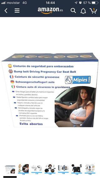 Adaptador cinturón seguridad para embarazadas