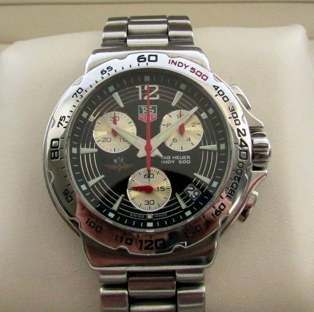Tag Heuer F1 Indy 500 Watch