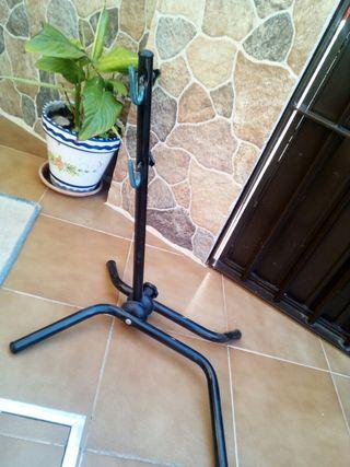 soporte caballete bicicleta