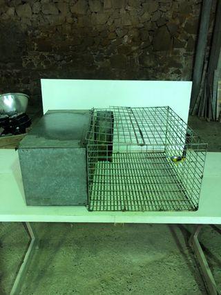 Jaulas cría conejos..en perfecto estado..