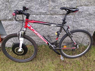 Bicicleta Orbea con rueda eléctrica Imotor