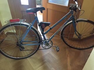 Bicicleta antigua estilo vintage