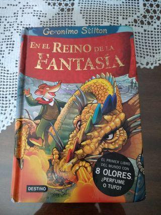 libro jeronimo stilton en el reino de la fantasia