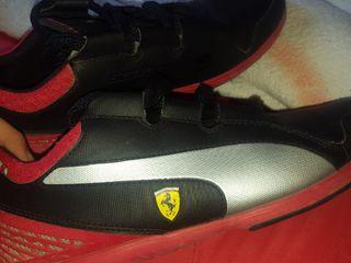 010c512ac Zapatillas Ferrari de segunda mano en Madrid en WALLAPOP