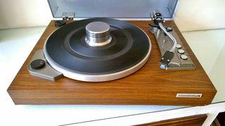 Pathe Marconi TL-257V Plato Tocadiscos Vintage