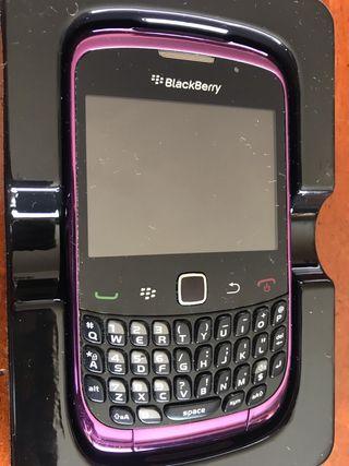 BlackBerry curve 9300, purple