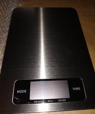 Balanza báscula Nueva cocina acero 5 kg digital
