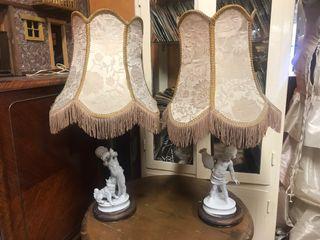 Lámparas porcelana de mesa