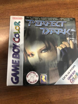 Perfect dark-game boy color