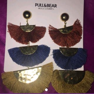 pendientes pull and bear