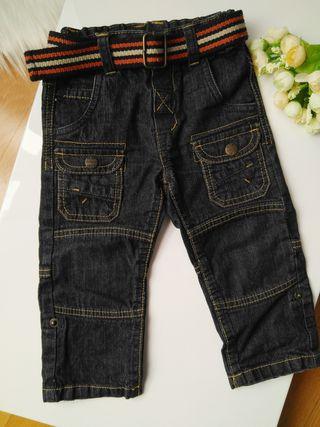 Jeans bebé con cinturón