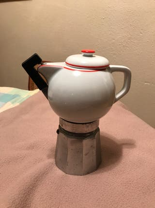 Cafetera oroley con jarra