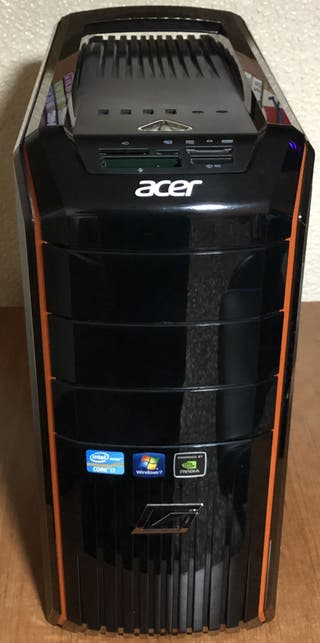 PC GAMER ACER PREDATOR I5 16GB RAM GTX 950 2 GB