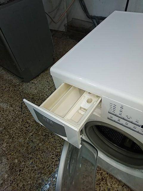 Lavasecadora aeg impecable seminueva