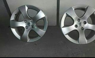 2 llantas de 17 de aluminio