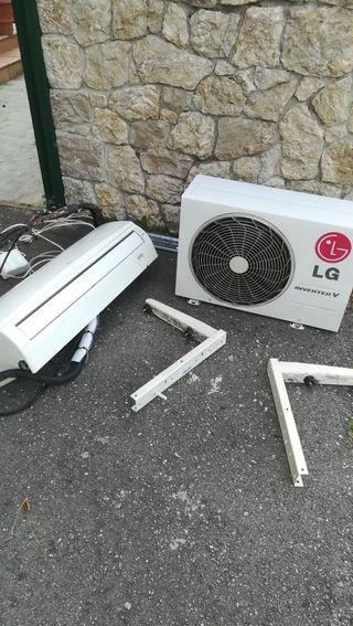 climatizador LG inverter V