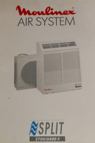 Aire acondicionado portátil.