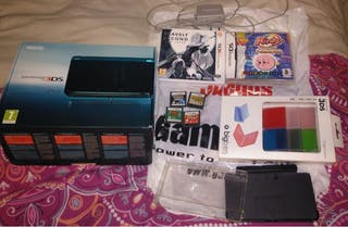 Lote de Nintendo 3DS Azul