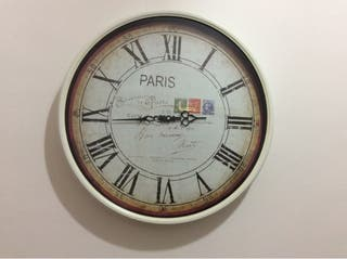 Reloj de pared grande (50cm diámetro)
