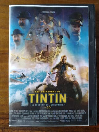 "DVD película ""Tintín"""