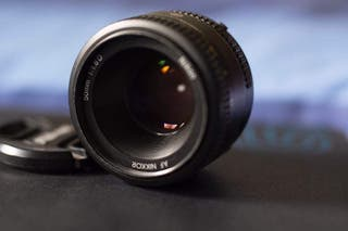 Objetivo AF Nikkor 50mm 1.8 D