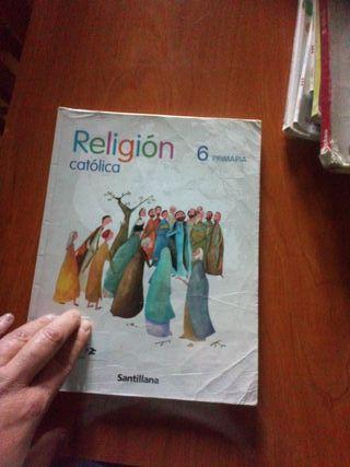 religión 6 primaria