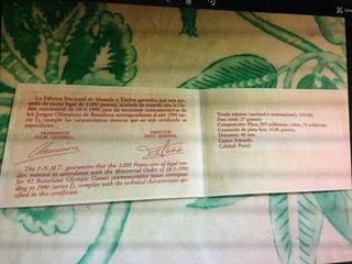 certificado ceca de madrid