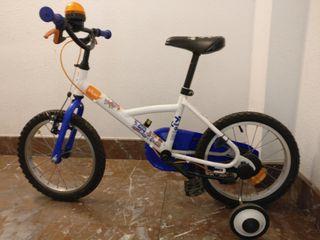 Bicicleta infantil para niño o niña de Decathlon
