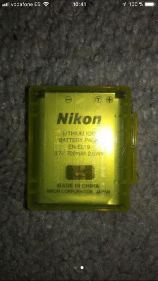 bateria camara nikon