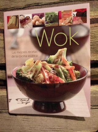 Libro recetas wok