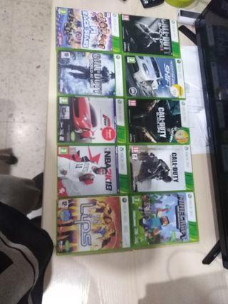 juegos Xbox 360 o kinect