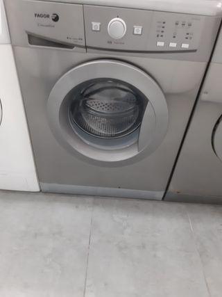 Lavadoras fagor de 6kg color acero