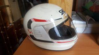 casco blanco Shoei talla M