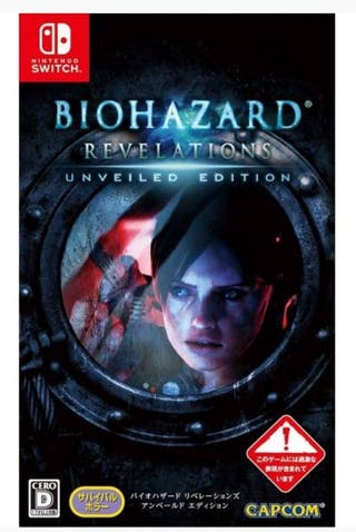 Resident evil Biohazard Revelation Nintendo switch