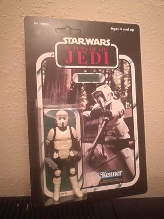 Star Wars BIKER SCOUT IMPERIAL SOLDIER vintage 83