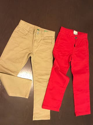 Pantalones talla 4-5 años